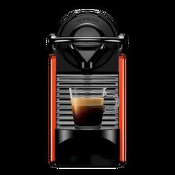 Cafetera Pixie Roja 1 U