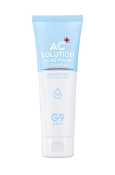 G9 Skin ac Solution Acne Foam Cleanser 120 mL