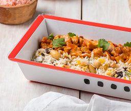 Pollo Tikka Masala con arroz madrás