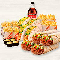 Pack Familiar Burrito Supreme