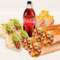 Pack Familiar Burrito XL