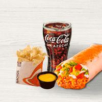Combo Burrito 7 Layer + Nacho o Papas Queso + Bebida