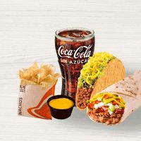 Combo Burrito Supreme + Taco Crunchy +...