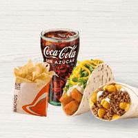 Combo Burrito Big Bell + Taco Crispy Potato Soft +...