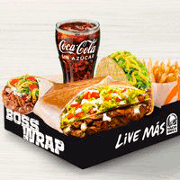 Combo BossWrap Box + Burrito Supreme + Taco Crunchy +...