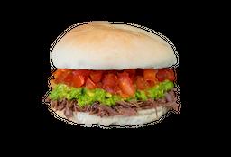 Sándwich de Mechada Italiana