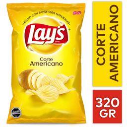 Lays Papas Fritas T Americano