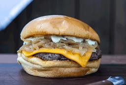 "Hamburguesa ""Cheese"" Simple"