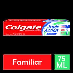 Colgate Crema Dental Con Fluor Triple Accion