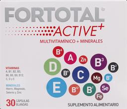 Fortotal Vitaminas Active+ Cap.30