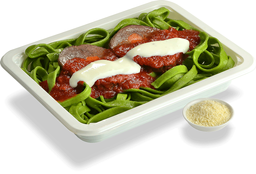 Fettuccini con Carne Mechada