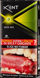 Cigarro Ikon Mix Kent 20Un