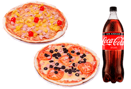 Combo 2 Pizza Individuales