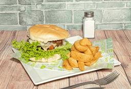 Sándwich de hamburguesa royal