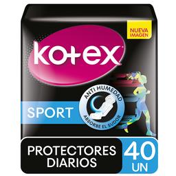 Protector Diario Kotex Sport x 40 Un