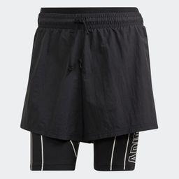 Shorts Mujer W Det 2I1 Shrt Black