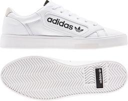 Zapatos Mujer Adidas Sleek W Ftwwht/Crywht/Cblack