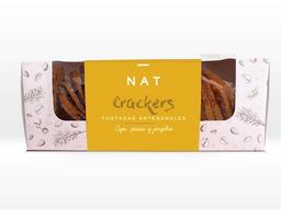 Tostada Nat Crackers Caju Jengibre Pasas 160 g
