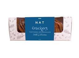 Tostada Nat Crackers Datil Almendras 160 g