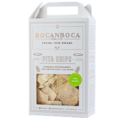 Galleta Bocanboca Pita Chips Finas Hierbas 200 g