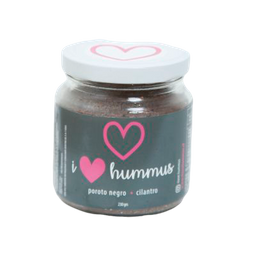 Hummus I Love Poroto Negro Cilantro 230 g