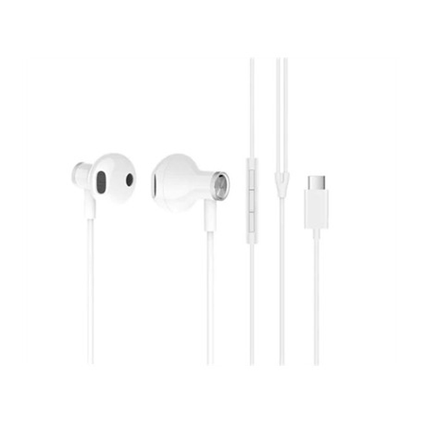 Audifonos Xiaomi Mi Dual Driver Earphones Type-C Blanco 1 U