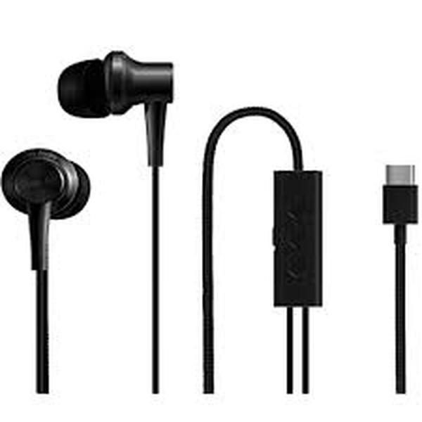 Audifonos Xiaomi Mi Dual Driver Earphones Type-C Negro 1 U