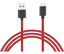 Xiaomi Cable Mi Braided Usb Type C Rojo