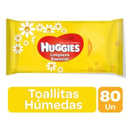 Huggies - Toallas Hum.Classic X80