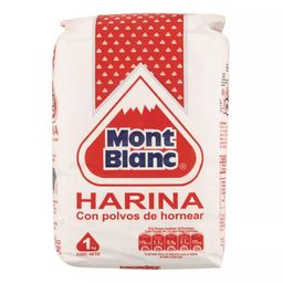 Harina Monte Blanco Con Polvo 12X1Kg