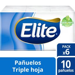 Panuelos Elite Triple Hoja Aloe