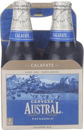 Four Pack Cerveza Austral Calefate 330cc