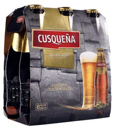 Six Pack Cerveza Cusqueña Botella 330cc