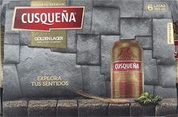 Six Pack Cerveza Cusqueña Lata 355cc