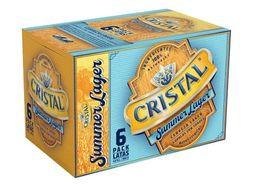 Six Pack Cerveza Cristal Summer Lata 350cc