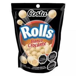 Chocolate Rolls Blanco 140g