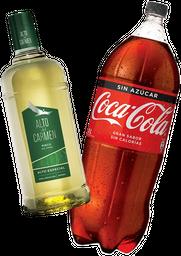 Pisco Alto Del Carmen 35° 1Lt + Coca-Cola Variedades 3Lt