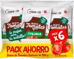 Cuisine & Co Pack Salsas De Tomate Italianas