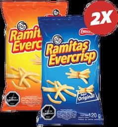 Promo: 2x Ramitas Evercrisp Variedades 120g