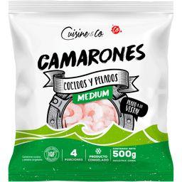 Camarones Cocidos Y Pelados Medianos Cuisine&Co 500 g