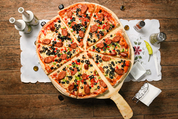 Pizza Mediana Española
