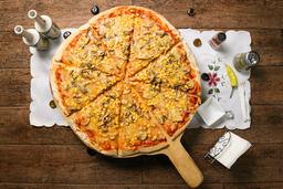 Pizza Mediana Champiñón y Choclo