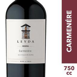 Leyda Vino Reserva Carmenere Botella