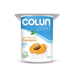 5 x Colun Yogurt Light Damasco