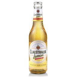 Cerveza sin Alcohol Sabor Limón Clausthaler