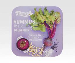 Hummus Betarraga Balsámico - Babar