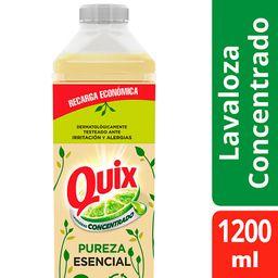 Quix Pureza Lavaloza Biodegradable y renovable Concentrado 500ml
