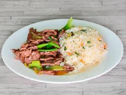 Colaciones de Carne Mongoliana