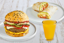 Wrap o Burger + Bebida