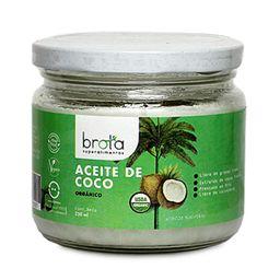 Aceite De Coco Organico Brota 250 ml